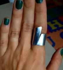 Aluminij prsten domaći dizajn