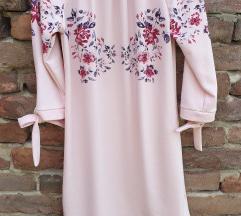 Roza haljina. uni
