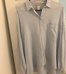 H&M Trend svijetlo plava košulja