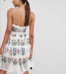 Cvijetna midi haljina