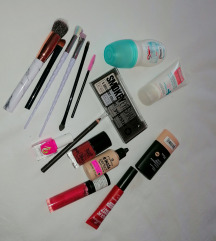 Lot kozmetike/šminke, novo, uklj pt