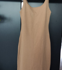 PRODANO Zara nude haljina s