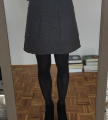 Suknja vunena Cos