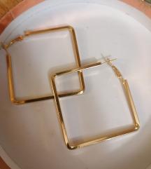 Zlatne naušnice (nije pravo zlato)