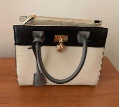 Carpisa crno-bijelo-siva torbica