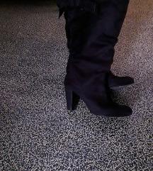 Čizme od brušene kože