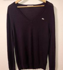 LACOSTE tamno ljubičasti pulover