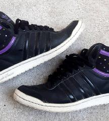 Adidas originals kožne crne tenisice 38