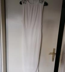 ASOS bijela pencil midi haljina