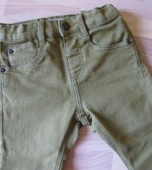 ZARA nove zelene skinny traperice vel. 98