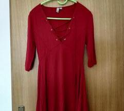 Asos crvena haljina
