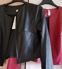 Kratka kozna jaknica