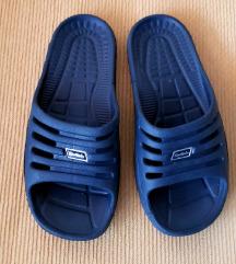 Sportskin unisex tamnoplave papuče/natikače