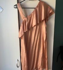 mango nude nova svilena haljina  M