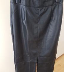 Nova Reserved kožna suknja