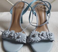 🖤 WERNER NOVE baby blue sandale 39