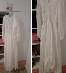 Maxi bijela haljina