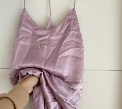 Satenska slip haljina