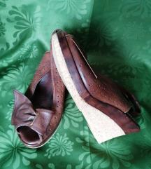 Lizard sandale platformice