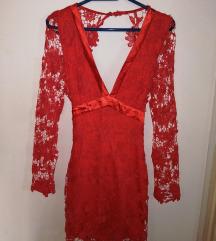 Crvena haljina, 40