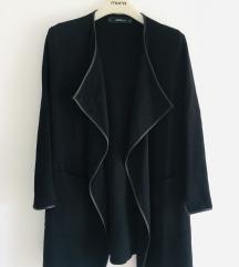 Zara crni kardigan kaputić  vel S