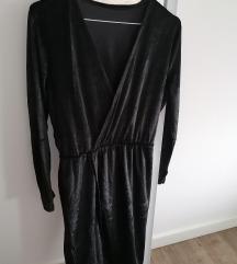 Velvet crna haljina