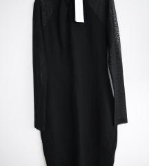 French Connection crna uska haljina