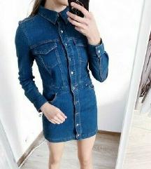 Zara denim mini haljina