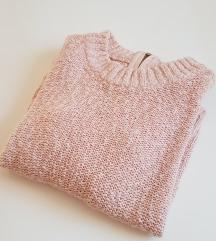 H&M rozi džemper