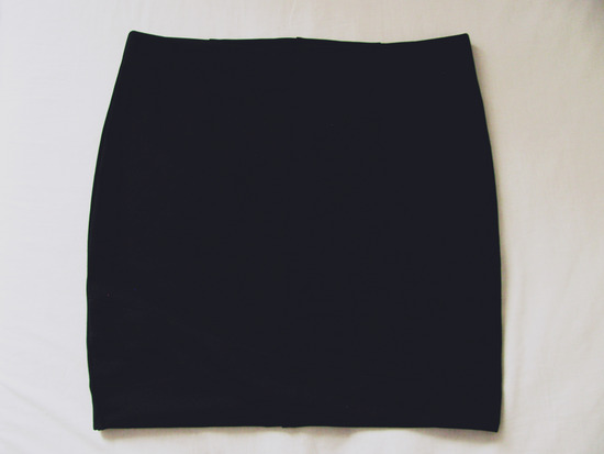 Crna formalna suknja