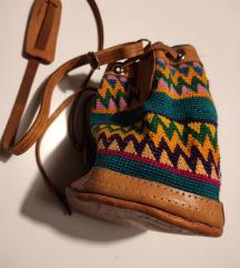 Etno kožna torbica