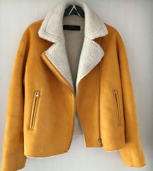 Zara antilop jakna s krznom