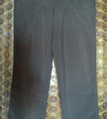 Maslinasto sive super tanke ljetne hlače 40 NOVO