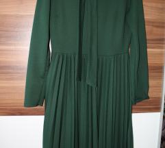 Ženska svečana haljina zelene boje