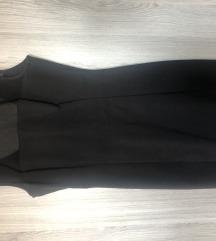MANGO uska crna haljina