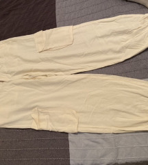 Lanene hlače sa džepovima