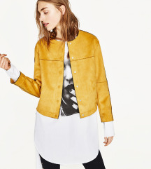 Zara žuta suede jaknica!