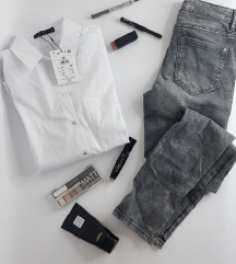 LOT - traperice i Mohito košulja