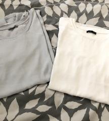 2x Zara svilenkaste majice (pt uklj)