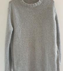 Zara knit siva vesta