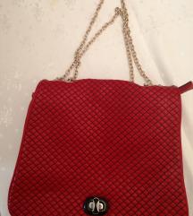 Crvena Kozna torba