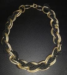 Metalna zlatna ogrlica