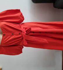 Crvena haljina pamuk