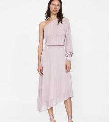 Tražim zara asimetricna roza haljina
