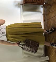 VINTAGE suknja od svile