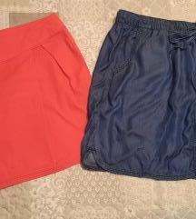 Lot - dvije kraće suknje 40/42