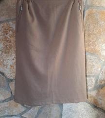 Safari midi suknja