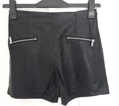 Zara kožne shorts