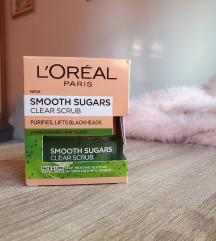 LOREAL - smooth sugar scrub