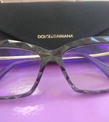 Dioptrijski okviri za naočale DOLCE&GABBANA